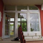 Terasz lezárása Szadán